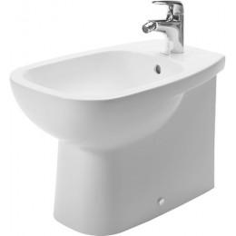 Duravit D-Code 22411000002, Биде напольное, цвет белый
