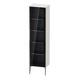 Duravit XVIU XV1376LB122, Шкаф напольный, 177 см, цвет белый/шампань