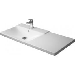 Duravit P3 Comforts 2333120000, Раковина с переливом, цвет белый