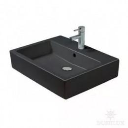 Duravit Vero 0454600860 Раковина с переливом 60 см черный