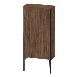 Duravit XVIU XV1306LB221, Шкаф напольный, 89 см, цвет орех/черный