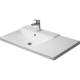 Duravit P3 Comforts 2333850000, Раковина с переливом, цвет белый