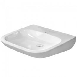 Duravit D-Code 23136000702, Раковина без перелива, цвет белый