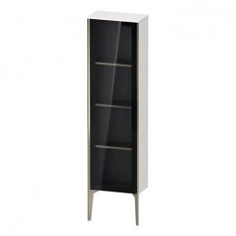 Duravit XVIU XV1365LB122, Шкаф напольный, 133 см, цвет белый/шампань