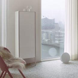 Duravit XVIU XV1336LB122, Шкаф напольный, 177 см, цвет шампань/белый