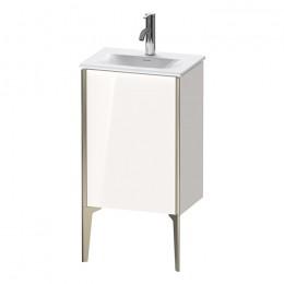 Duravit XVIU XV4068LB122, Тумба напольная, 43 см, цвет белый/шампань