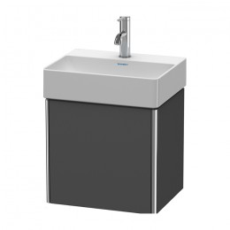 Duravit XSquare XS4060L4949, База под раковину, 43 см, цвет графит