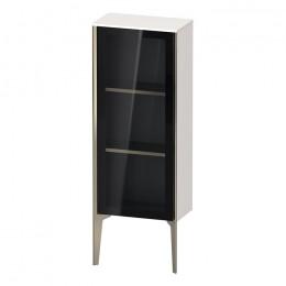 Duravit XVIU XV1360LB122, Шкаф напольный, 89 см, цвет белый/шампань