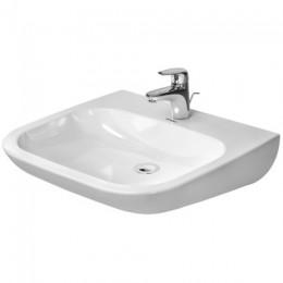 Duravit D-Code 23136000002, Раковина без перелива, цвет белый