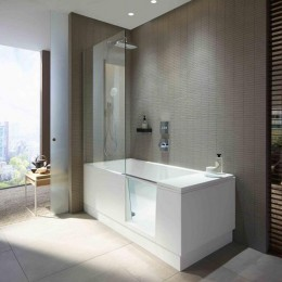 Duravit Shower + Bath 700403000000000, Ванна левосторонняя, цвет белый