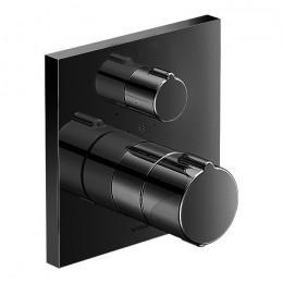 Duravit C.1 C14200015046 Термостат для душа для скрытого монтажа черный