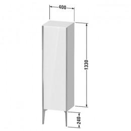 Duravit XVIU XV1325LB122, Шкаф напольныйй, 133 см, цвет белый/шампань